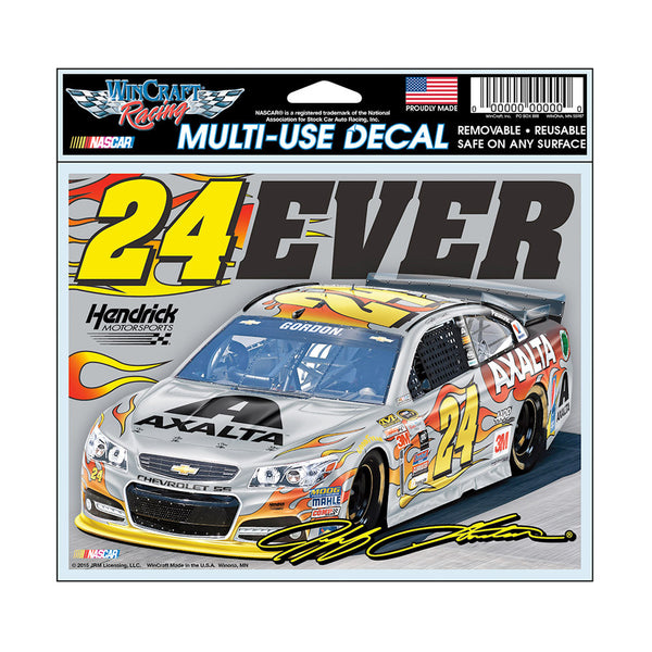 Jeff Gordon #24 Final Ride Multi-Use Decal