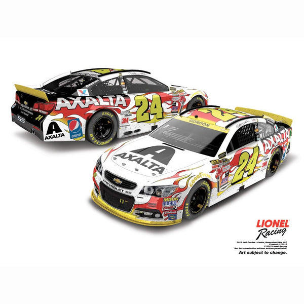 Jeff Gordon No. 24 Axalta Coating Systems Homestead Raced Version 2015 NASCAR Sprint Cup Series Store Exclusive Finish 1:24 Diecast