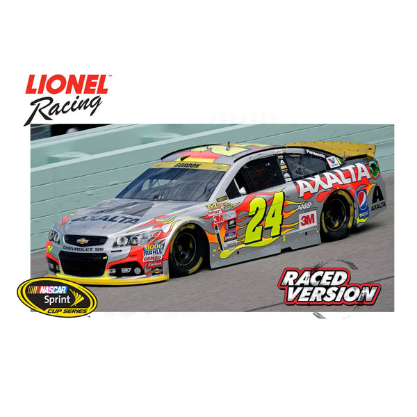 Jeff Gordon No. 24 Axalta Coating Systems Homestead Raced Version 2015 NASCAR Sprint Cup Series Color Chrome 1:24 Diecast