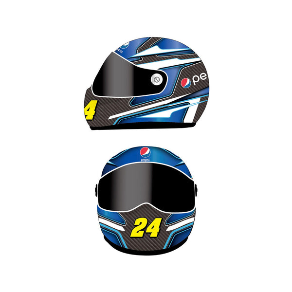 Jeff Gordon 2015 Pepsi Mini Size Replica Helmet