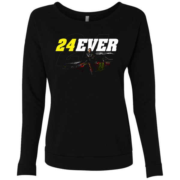 24Ever Spotlight Ladies' Scoop Long Sleeve