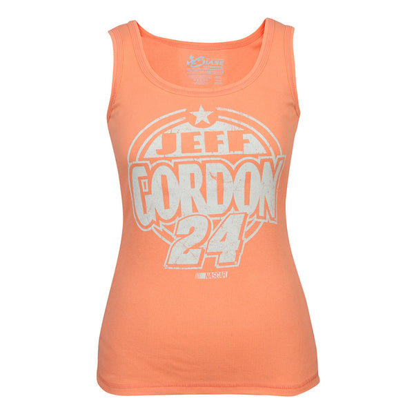 Jeff Gordon Ladies Coral Tank