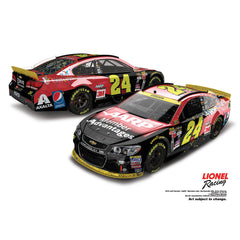 Jeff Gordon 2015 AARP Members Advantage Color Chrome 1:24 Diecast