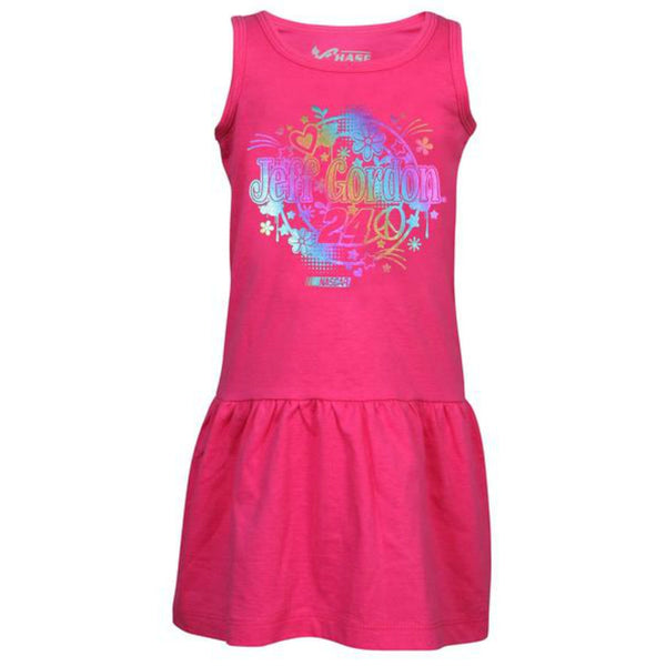 Jeff Gordon Toddler Girls Tank Dress