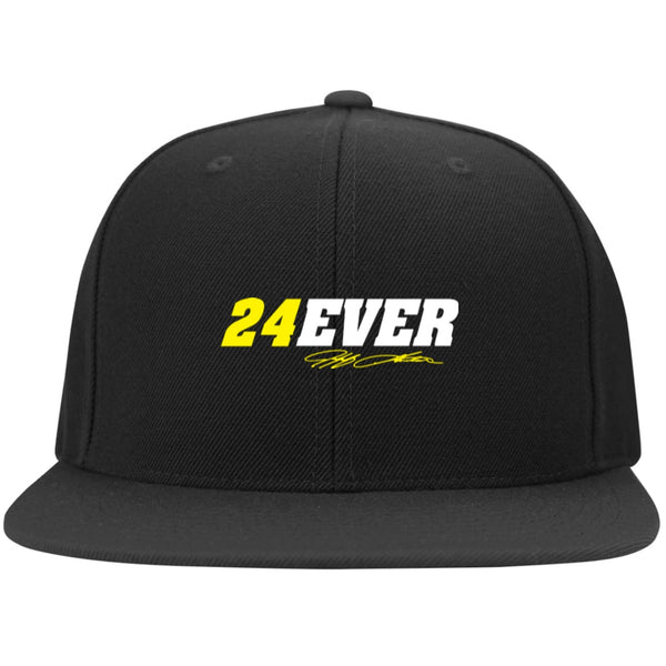 Jeff Gordon 24Ever Flat Bill Twill Flexfit Cap