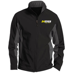 Jeff Gordon 24Ever Tall Colorblock Soft Shell Jacket