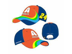 Jeff Gordon #24 Axalta Rainbow Element Hat