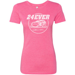 24Ever Vintage Logo Ladies' Triblend T-Shirt