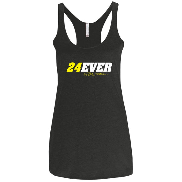 Jeff Gordon 24Ever Ladies' Triblend Racerback Tank
