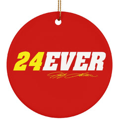 Jeff Gordon 24Ever Ornament