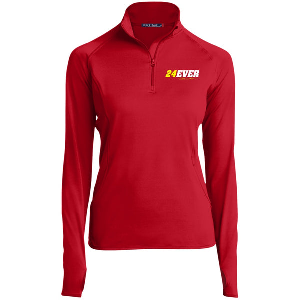 Jeff Gordon 24Ever Women's 1/2 Zip Performance Pullover