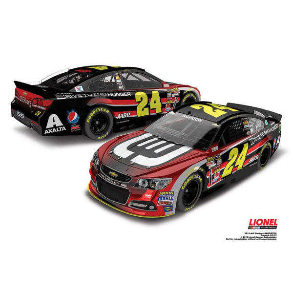 Jeff Gordon 2014 AARP/DTEH 1:24 ARC Diecast
