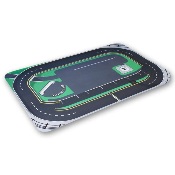 Kids Vinyl Oval Race Track