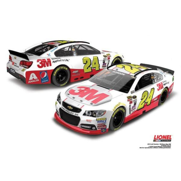 Jeff Gordon 3M Race Day 2015 Store Exclusive Finish 1:24 Diecast