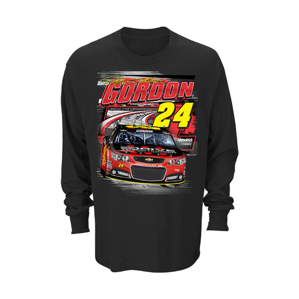 Jeff Gordon Drive to End Hunger #24 Men's Front Runner Long Sleeve Tee