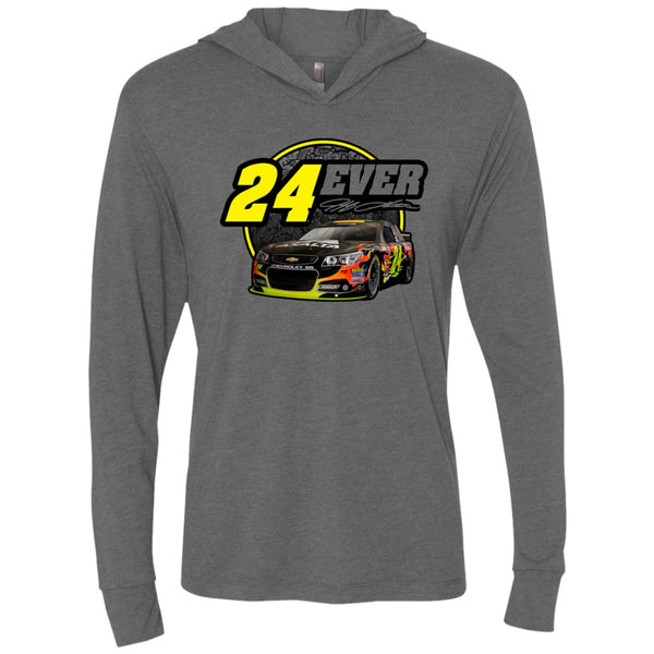 24Ever Car Logo Long Sleeve Hoodie Shirt