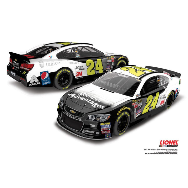 Jeff Gordon 2015 AARP Members Advantage Store Exclusive Finish 1:24 Diecast