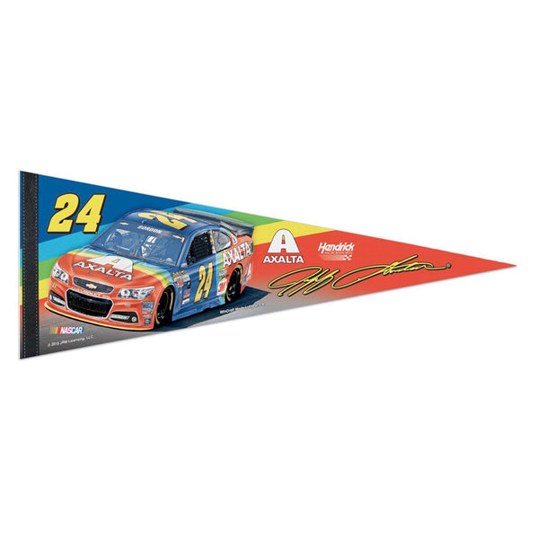 Jeff Gordon 2015 Axalta Rainbow Pennant