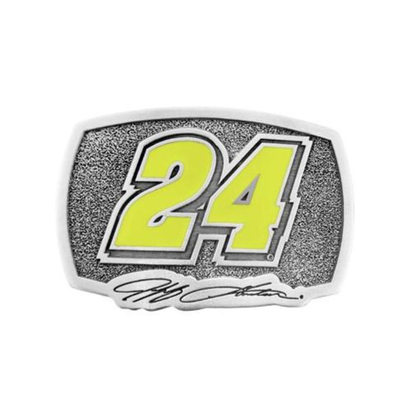 Jeff Gordon Pewter 24 Belt Buckle