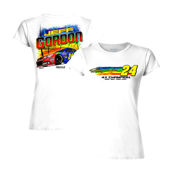 Jeff Gordon 2015 Axalta Rainbow Ladies Tee
