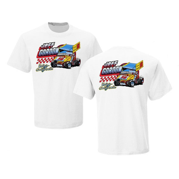Jeff Gordon Retro 1985 #16 Sprint Car Tee