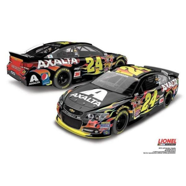 Jeff Gordon No. 24 Axalta Coating Systems NASCAR Sprint Cup Series 1:24 Diecast
