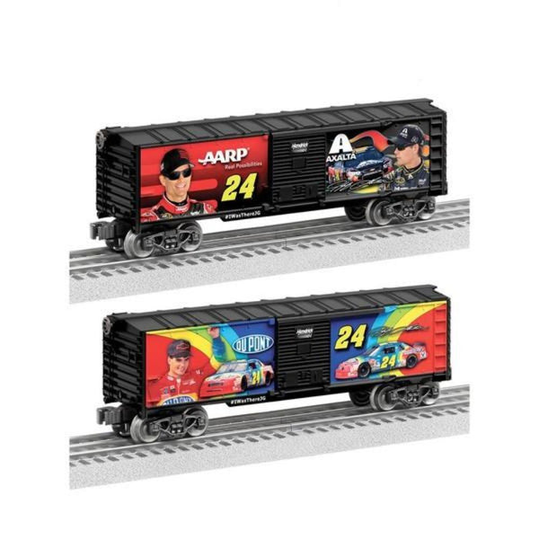 Jeff Gordon Commemorative #24 Lionel Boxcar