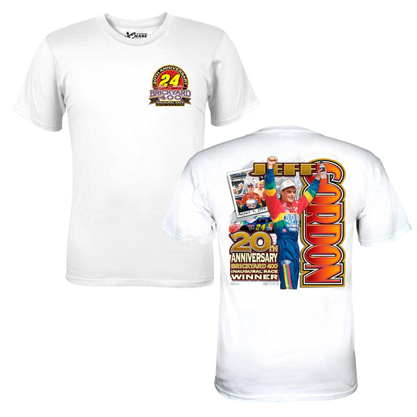Jeff Gordon 20th Anniversary Brickyard Tee - 2X Large