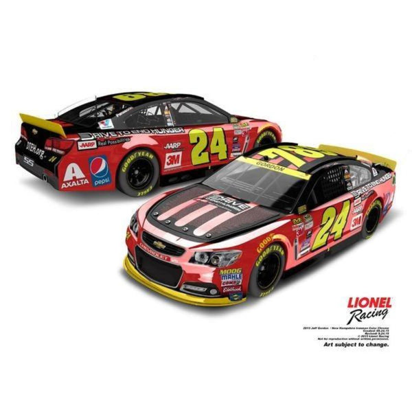 Jeff Gordon 2015 Ride With Jeff / Iron Man Sprint Cup Series Color Chrome 1:24 Diecast