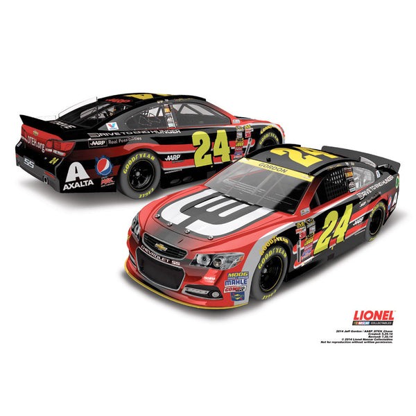 Jeff Gordon CHASE AARPå¨ /Drive to End HungerTM 1:24 Diecast