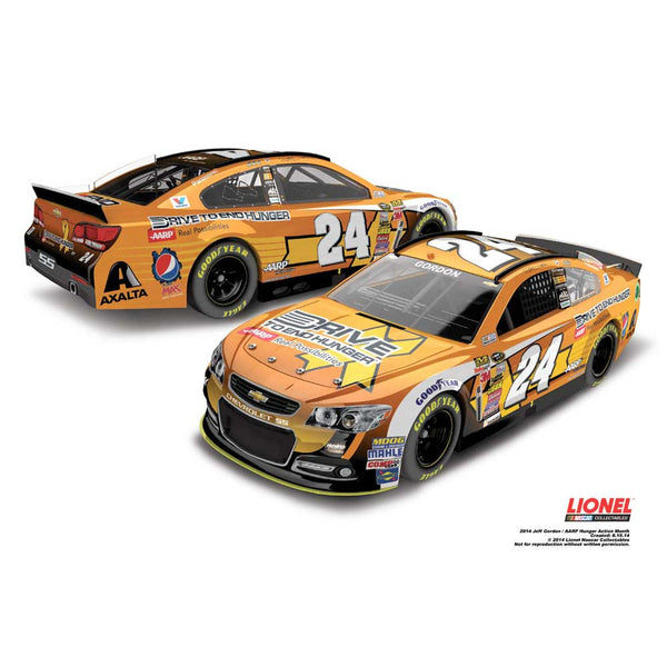 Jeff Gordon AARP/ Hunger Action Month 1:24 Diecast