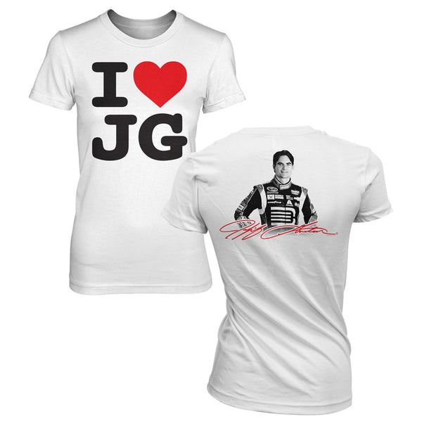 I Heart JG Womens Tee - 2X-Large