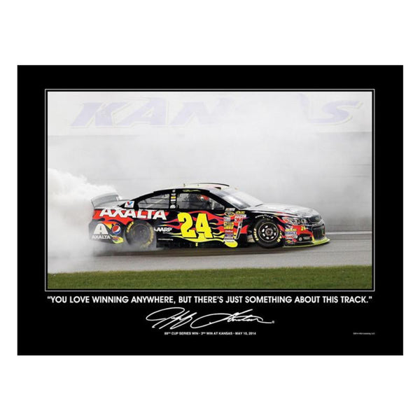 Exclusive Kansas Race Win Poster