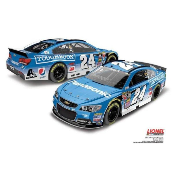 Jeff Gordon No. 24 Panasonic 2015 NASCAR Sprint Cup Series 1:24 Diecast