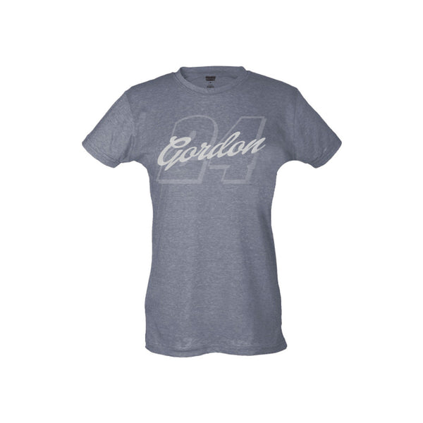 Jeff Gordon #24 Ladies Liquid Silver Tee