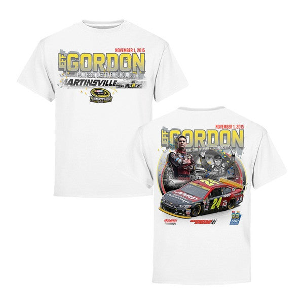 Jeff Gordon Martinsville Speedway Commemorative Win Tee