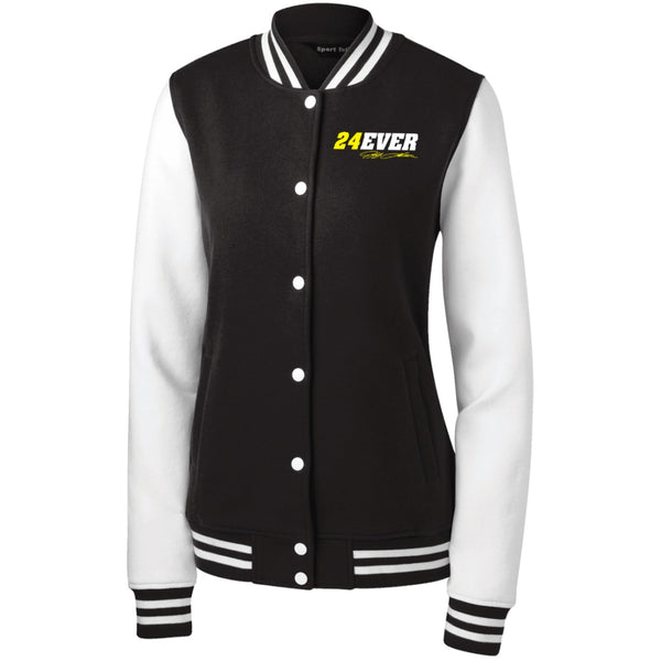 Jeff Gordon 24Ever Women's Fleece Letterman Jacket