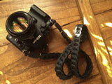 Rock n Roll Leather straps - Tie Her Up camera straps - 14