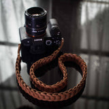 Rock n Roll Leather straps - Tie Her Up camera straps - 9