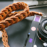 Rock n Roll Leather straps - Tie Her Up camera straps - 13