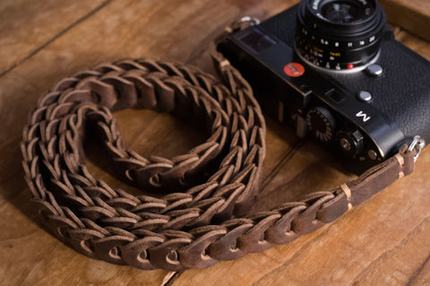 Special Edition Rock n Roll  camera straps - Tie Her Up camera straps - 1
