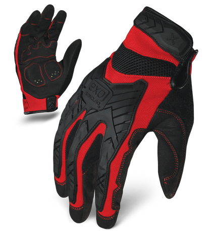 MOTOR IMPACT - RED , Glove - Ironclad Performance Wear, Ironclad Performance Wear