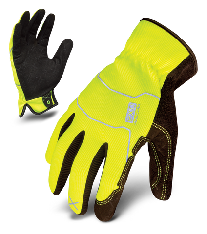 HI-VIZ UTILITY: YELLOW , Glove - Ironclad Performance Wear, Ironclad Performance Wear  - 1