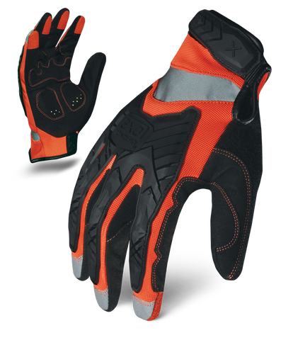 HI-VIZ IMPACT - ORANGE , Glove - Ironclad Performance Wear, Ironclad Performance Wear