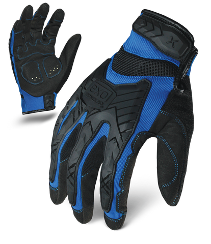 MOTOR IMPACT - BLUE , Glove - Ironclad Performance Wear, Ironclad Performance Wear