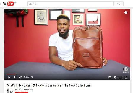 Jekyll & Hide backpack featured in What's In My Bag? from The New Collections