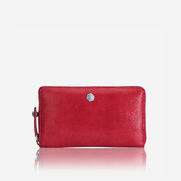 GIFTS UNDER R3K - Medium Zip Around Purse, Cherry