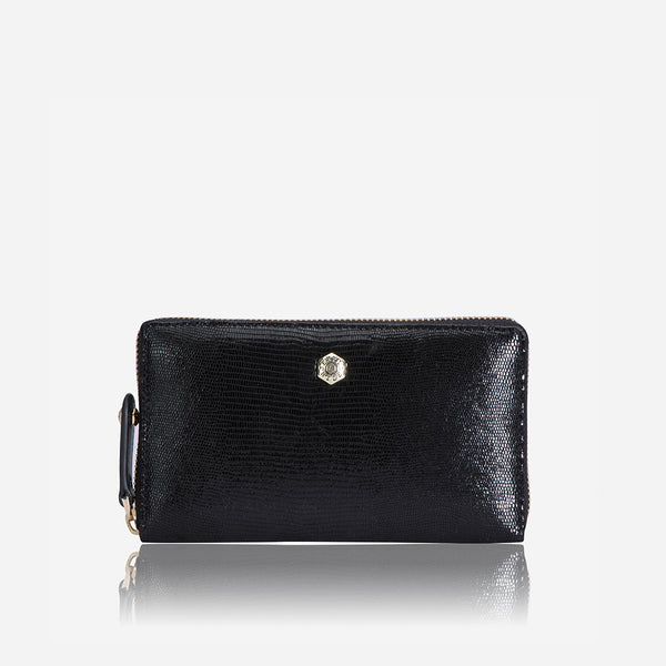 Medium Zip Around Purse, Midnight - Jekyll and Hide SA