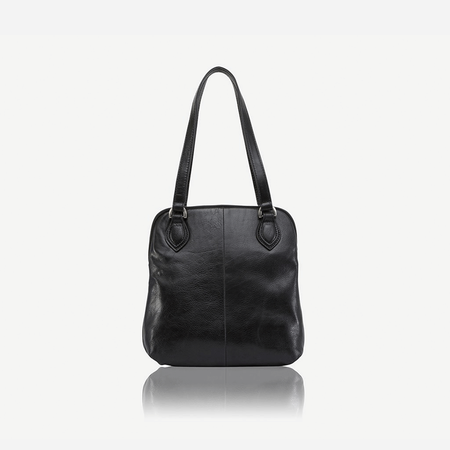 Compact Ladies Handbag, Black - Jekyll and Hide SA