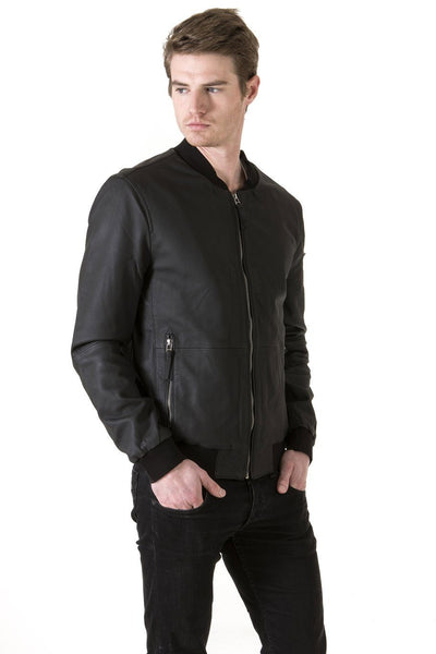 Men's Gomma Black Jacket